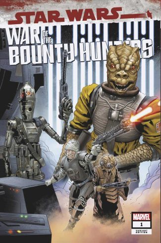 Star Wars War Of The Bounty Hunters #1 (Jetpack Comics Will Sliney Limited Exclusive Variant)