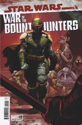 Star Wars War Of The Bounty Hunters #1 (Larraz 1/50 Variant)
