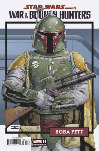 Star Wars War Of The Bounty Hunters #1 (Cassiday 1/25 Trading Card Variant)