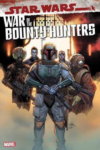 Star Wars War Of The Bounty Hunters #1 (Yu 1/25 Variant)