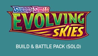 POKEMON EVOLVING SKIES BUILD & BATTLE PACK (SOLO) Wave 3