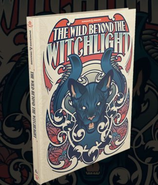 D&D Adventure The Wild Beyond The Witchlight Alternate Cover