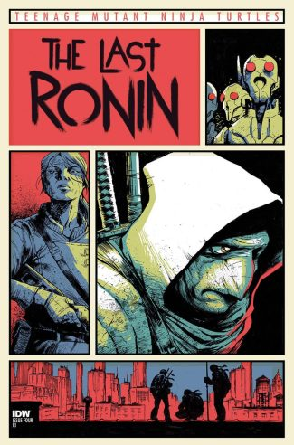 TMNT Last Ronin #4 (Dave Wachter 1/10 B Cover)