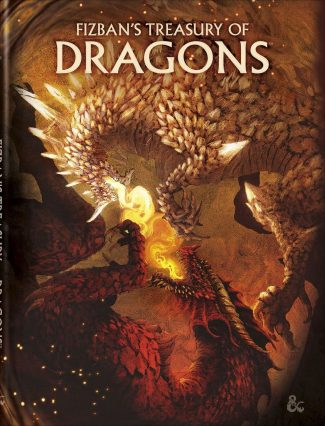 D&D 5th Edition: Fizban's Treasury Of Dragons (Alternate Cover)