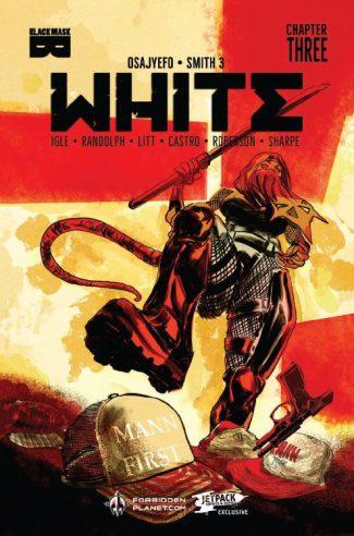 WHITE #3 (David Brame Jetpack Exclusive)