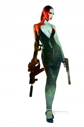 GUN HONEY #1 (Bill Sienkiewicz 1/10 Virgin Variant) VG-