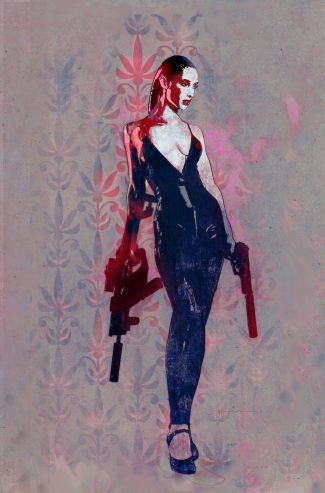 GUN HONEY #1 (Bill Sienkiewicz 1/25 Pink Virgin Variant) VG-