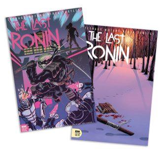 TMNT Last Ronin #4 (2 Pack A & Jetpack Comics Exclusive)