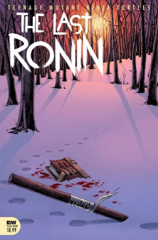 TMNT Last Ronin #4 (A Cover)