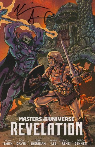 KEVIN SMITH SIGNED  – MASTERS OF THE UNIVERSE REVELATION #1 (Jetpack Comics Exclusive)