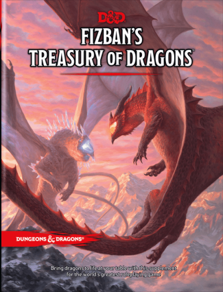 D&D 5th Edition: Fizban's Treasury Of Dragons