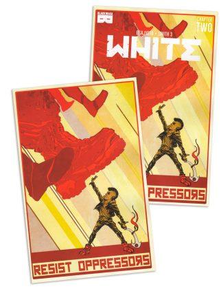 WHITE #2 (David Brame Jetpack Trade Dress & Virgin Exclusive Pair)