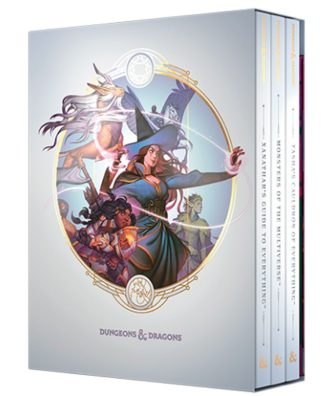 D&D Rules Expansion Gift Set (Alternate Covers)