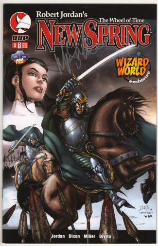 ROBERT JORDAN'S WHEEL OF TIME NEW SPRING #X (SIGNED By Artist Mike Miller  – WIZARD WORLD EXCLUSIVE DDP)