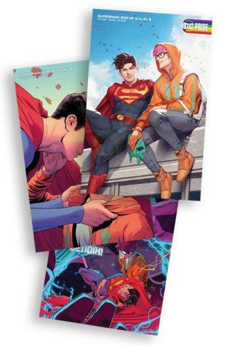 Son Of Kal-El #5 (A, B, C Cover Set)