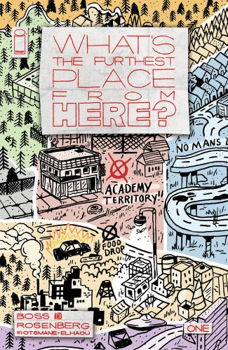 WHAT'S THE FURTHEST PLACE FROM HERE (1/50 Courtney Menard)